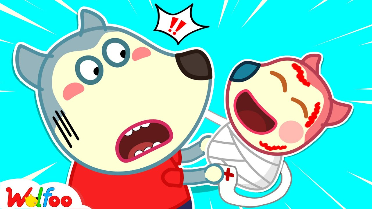 Baby Jenny Got Injured - Funny Stories for Kids About Wolfoo's Boo Boo Moments | Wolfoo Channel