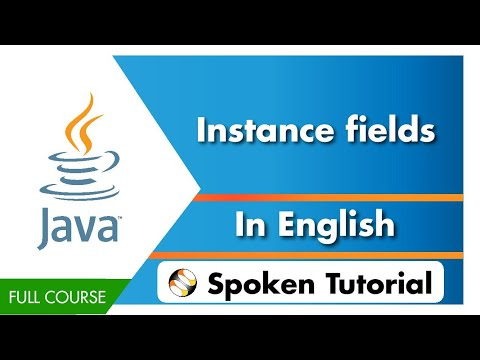 Instance fields - English