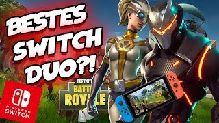 DAS BESTE SWITCH FORTNITE DUO - Fortnite Battle Royale Nintendo Switch Gameplay Deutsch | EgoWhity