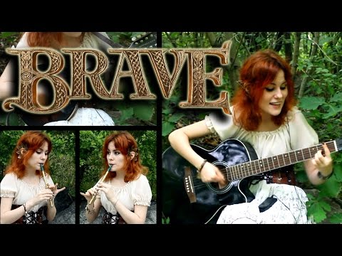Touch the sky - Brave (Mandolin, Tin Whistle Cover)