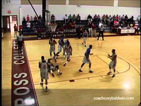 Chad Ross Waycross College Swampfox Basketball 12-13 Preseason Highlights