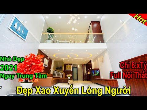 Bán nhà Gò Vấp   Nhà Đẹp 2021 Thiết kế đẹp Xao Xuyến lòng người ngay TT Gò Vấp ( Đã Bán sau 24h )