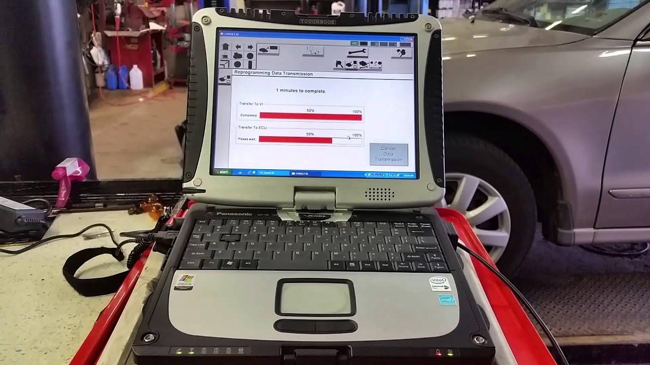Reprogramming a 2008 Nissan Rogue