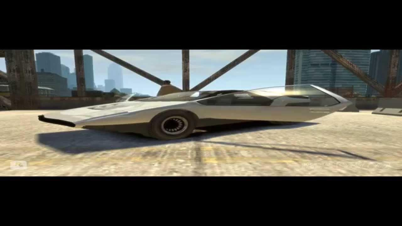 Gta Iv Alfa Romeo 33 Bertone Carabo Mod Hd Youtube