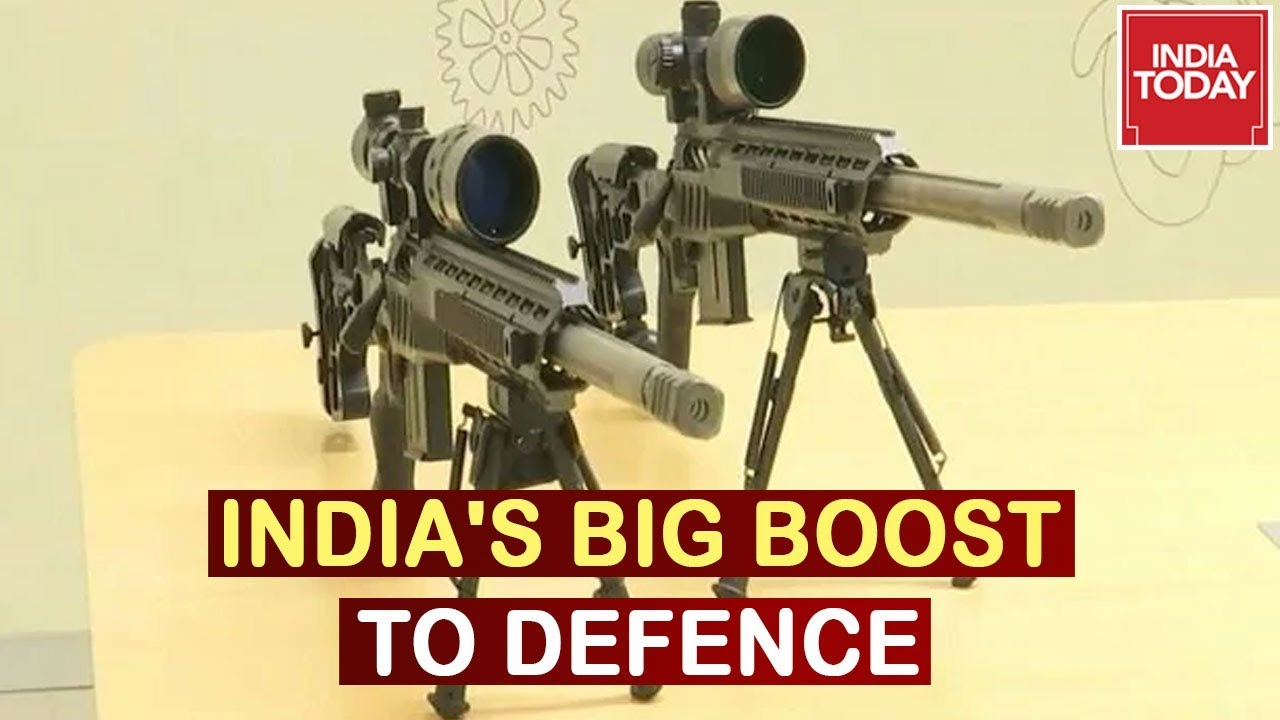 Download Boost To Defence : India's First Rifles Made In Bengaluru, Strengthening India's Defence