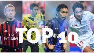 日本代表選手のヨーロッパでのゴールTop 10|Japanese Player 🇯🇵 ● Top 10 Amazing Goals in Europe thumbnail