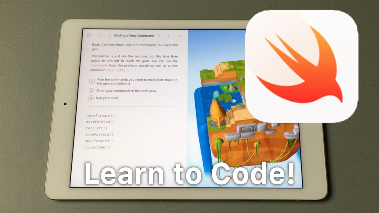 Learn To Code With Swift Playgrounds!
