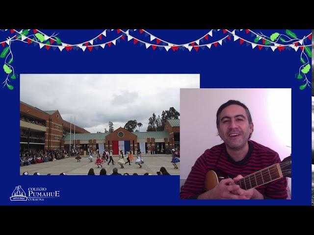 Saludo de Fiestas Patrias de E. Media - Colegio Pumahue Curauma