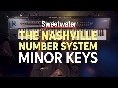 Understanding the Nashville Number System Part Two - Minor Keys