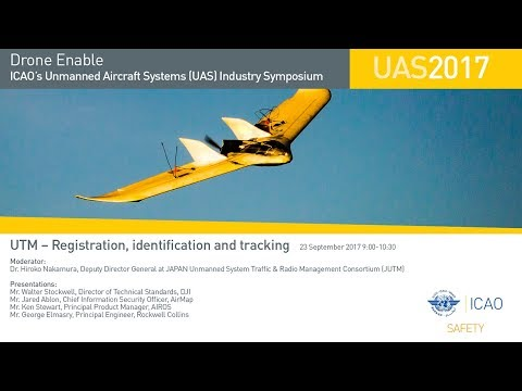 #DroneEnable UTM – Registration, identification and tracking