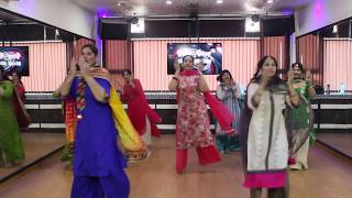 Laung Laachi | Easy Punjabi Dance Steps | Dance Choreography By Step2Step Dance Studio