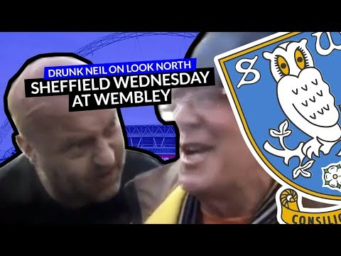 Neil crashes Hull City fan's interview for BBC Look North at Wembley