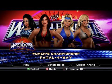 WWE SmackDown vs. Raw 2009 - Victoria vs. Beth Phoenix vs. Melina vs. Michelle McCool