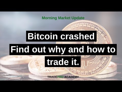 Bitcoin prices crash 35% in Chinese trading overnight - find out why and how to trade it.