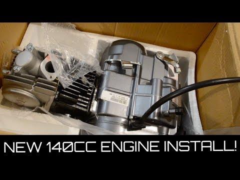 NEW 140cc Pit Bike Motor UNBOXING! | PitBike Rebuild Ep. 1