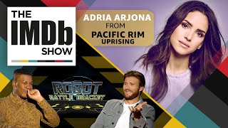The IMDb Show | Episode 118: 'Pacific Rim Uprising' Star Adria Arjona and the Robot Battle Bracket streaming