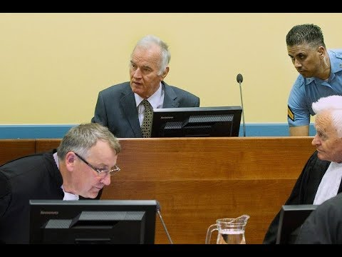 LIVE from Hague - UŽIVO iz Haga - ICTY delivers verdict in Ratko Mladic trial