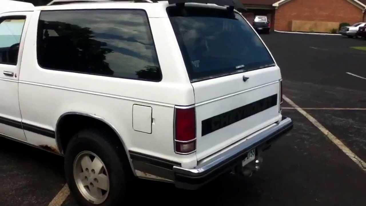 1989 Chevy S10 Blazer 4x4 4 3 V6 Walk Around