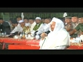 Sindiran Habib Luthfiy Saat Mau'idzoh di Polda Jateng 2017