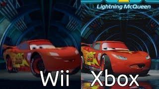 Cars 2 (Wii vs. Xbox)