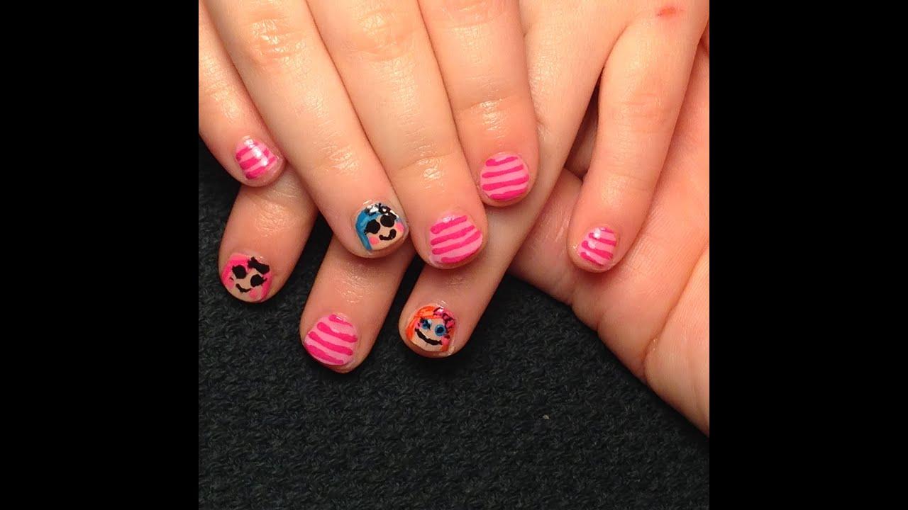 Toddler nail art image collections nail art and nail design ideas lalaloopsy toddler nails youtube lalaloopsy toddler nails prinsesfo image collections prinsesfo Choice Image