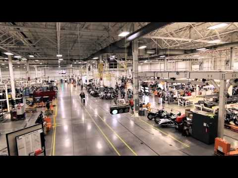 Harley-Davidson Factory in York, PA USA - YouTube