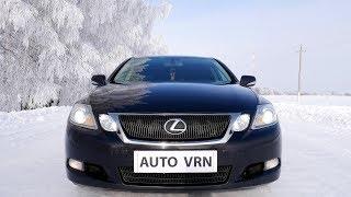 Lexus GS300 - Лучший ОБЗОР и Гонка против Mazda 6 2.5