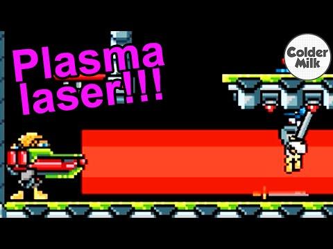 PLASMA LASER!!!!!! - DuckGame Funny Moments