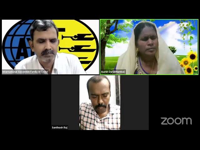 International Adventist Family in Christ/Youth Ministry/ Mr. SanthoshRaj