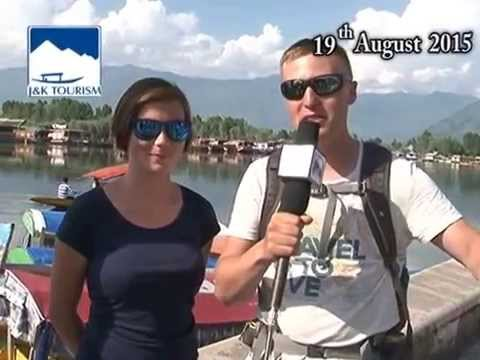 Tourists from France in Kashmir from Last 14 days.