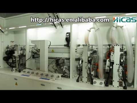 qingdao hicas edge banding machine for woodworking