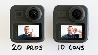 GoPro Max: 20 Pros, 10 Cons