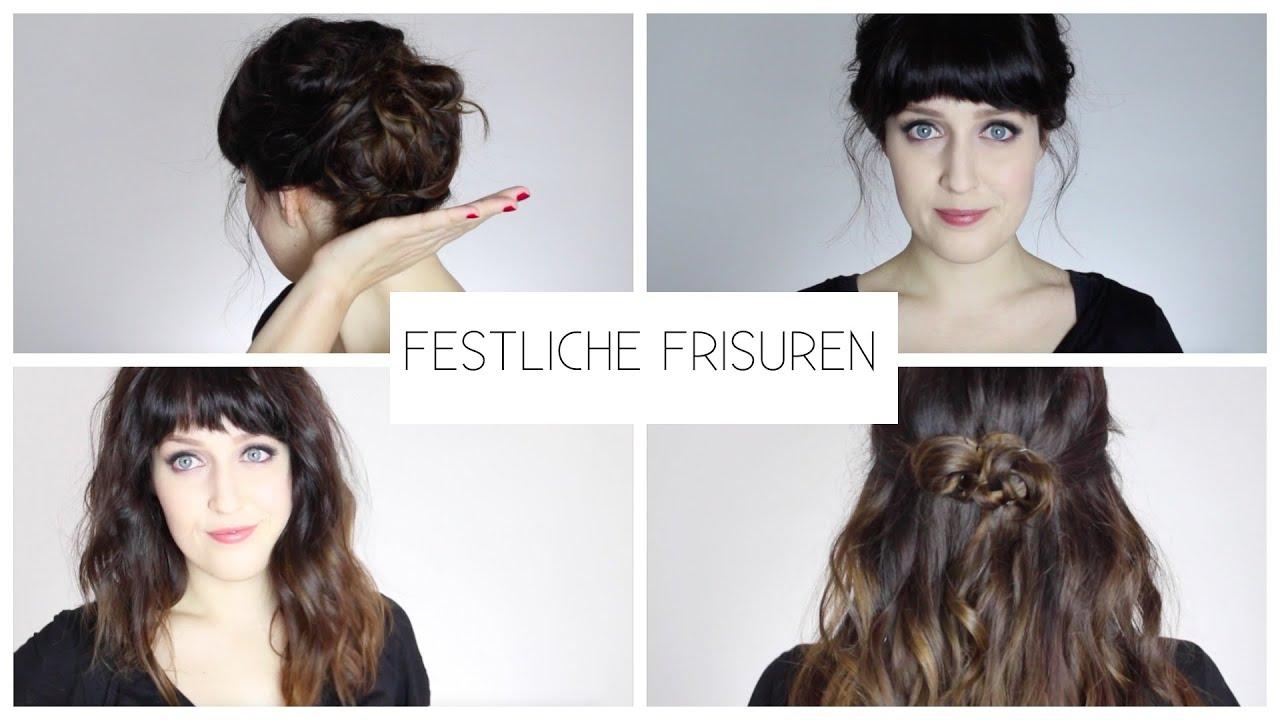 Festliche Frisuren I Weihnachtshaare Youtube