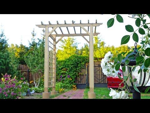 Садовая арка - пергола своими руками. Garden Arch DIY. Pergola