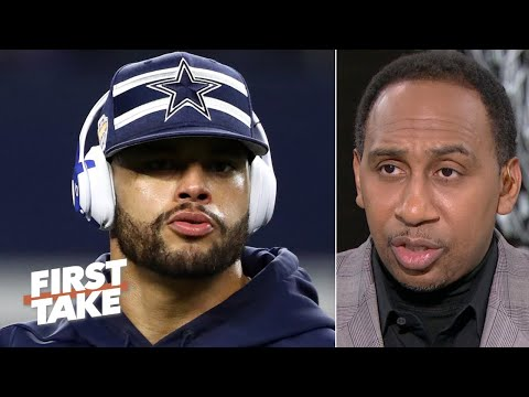 Dak Prescott doesnt deserve the money that hes asking for  Stephen A. | First Take