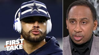 Dak Prescott doesn't deserve the money that he's asking for – Stephen A. | First Take