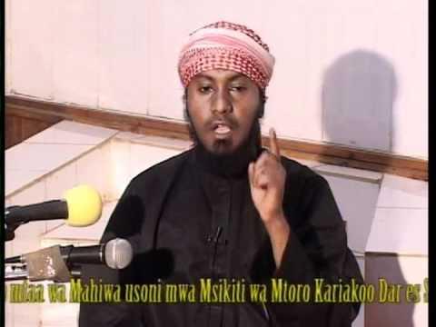 Sheikh Nurdin Kishki - MAMBO MATATU YATAKAYO FANYA MAMBO YAKO KUWA MAPESI thumbnail