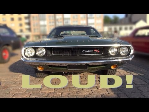 1970 Dodge Challenger R/T 440 Magnum - Amazing V8 And Exhaust Sound!