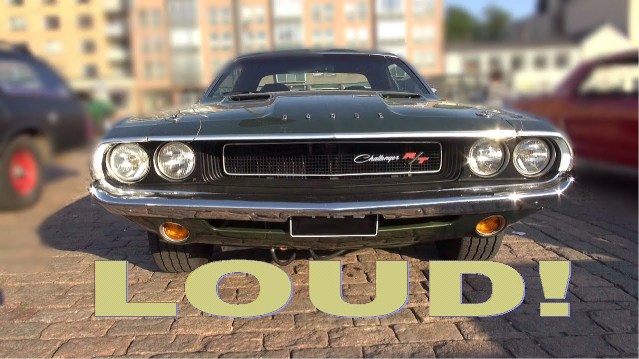 1970 Dodge Challenger R T 440 Magnum Amazing V8 And
