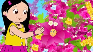 Bougainvillea - Flower Rhymes for Children | Infobells