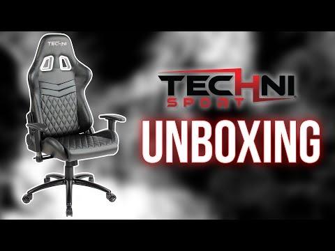 Techni Sport Chair Unboxing