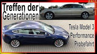 TESLA Model 3 Performance - VOLL - WOW Probefahrt - Beschleunigung u. Emotionen