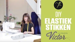 DIY - Hoe moet je met elastiek stikken?