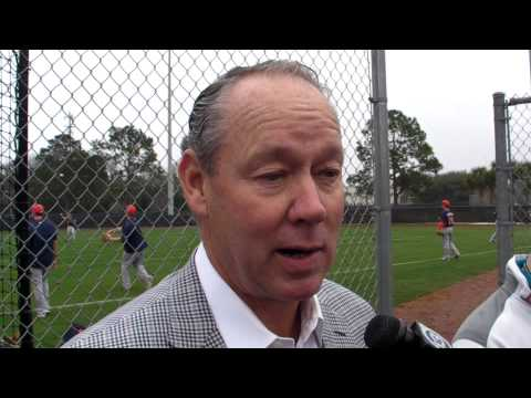 Astros Owner Jim Crane at Start of Spring Training 2015