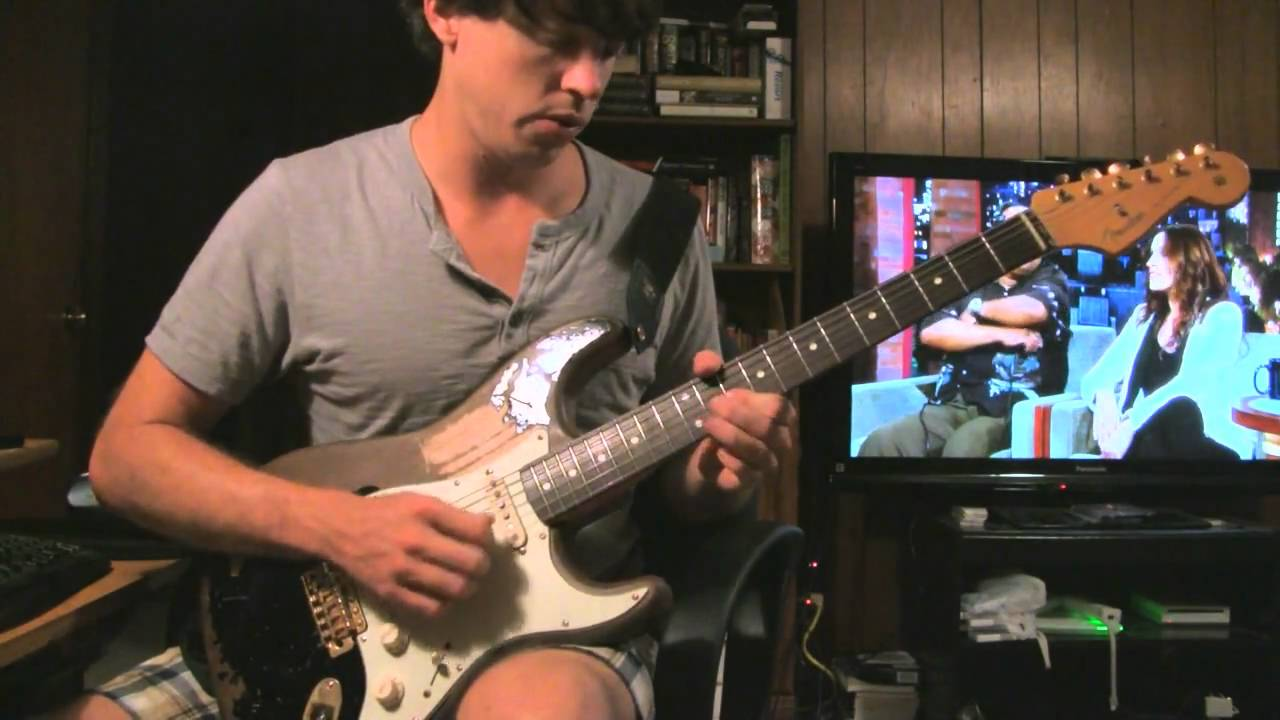 the black one john mayer guitar demo 1 youtube. Black Bedroom Furniture Sets. Home Design Ideas
