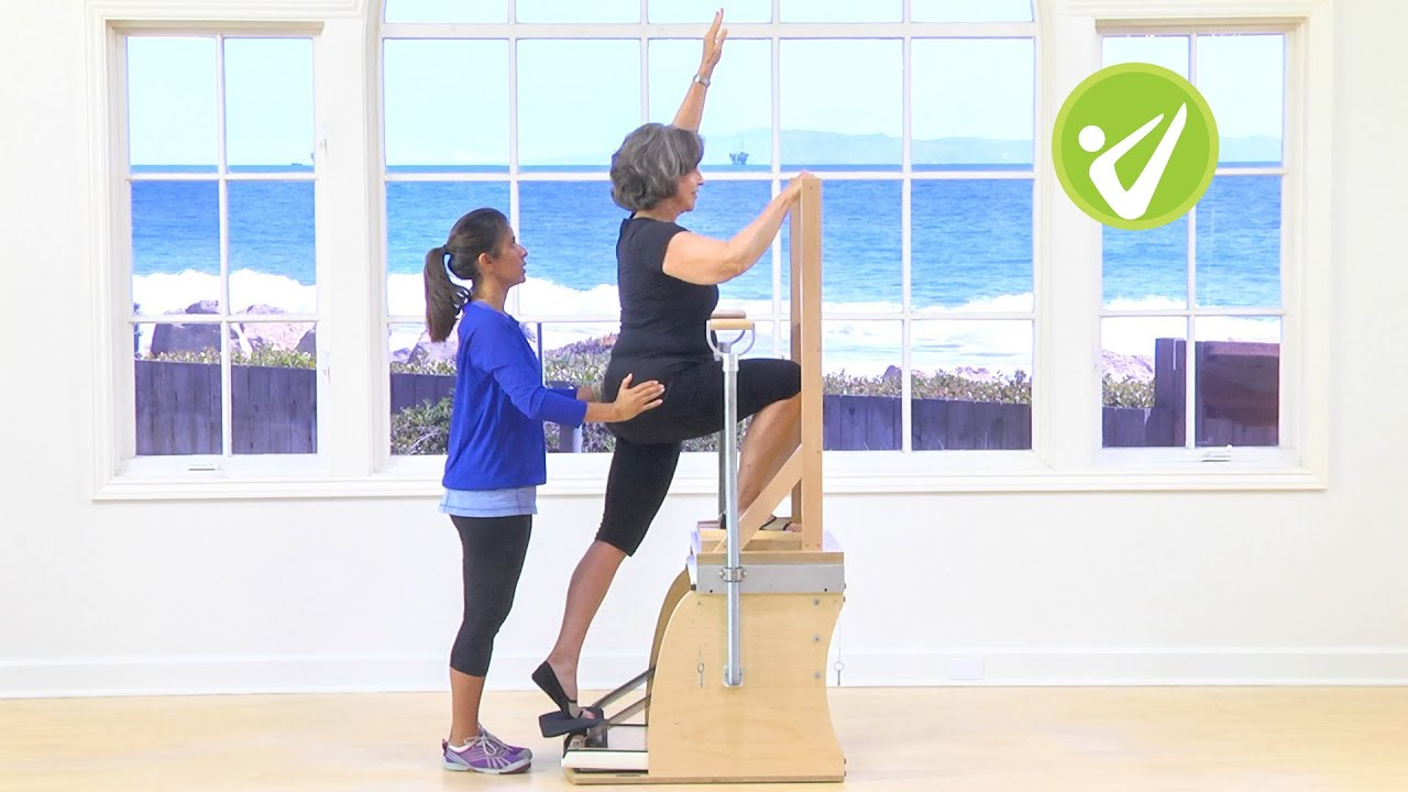 Pilates malibu chair buy malibu chair pilates combo - Pilates Beginner High Chair Workout Monica Wilson
