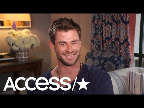 Chris Hemsworth Reveals How His 'Dundee' Reboot Ad Came Together | Access