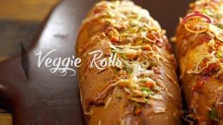 Veggie Rolls Recipe / Vegetable Filled Healthy Flavorful Snacks | Snack ON!