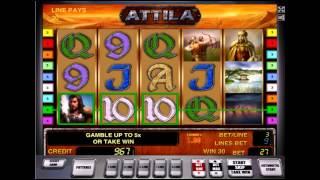 Как играть в игровой автомат Atilla бесплатно - советы от 777igrovye-avtomaty.com(Игровой автомат Атилла довольно прост в обращении, однако перед тем, как играть в него на реальные деньги..., 2014-09-15T15:03:57.000Z)