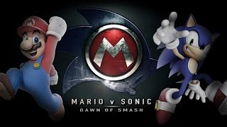 Mario vs. Sonic (Batman v Superman Trailer Remix) - IGN Original